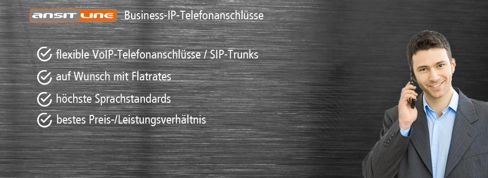 SIP Trunks für IP-Telefonanlagen